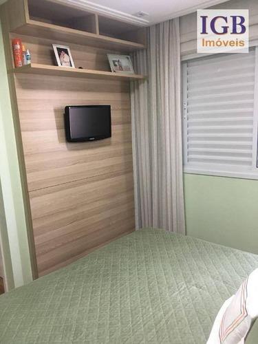 apartamento residencial à venda, santana, são paulo. - ap1231