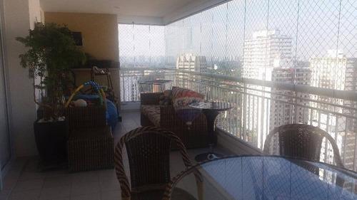 apartamento residencial à venda, santo amaro, são paulo - ap0436. - ap0436