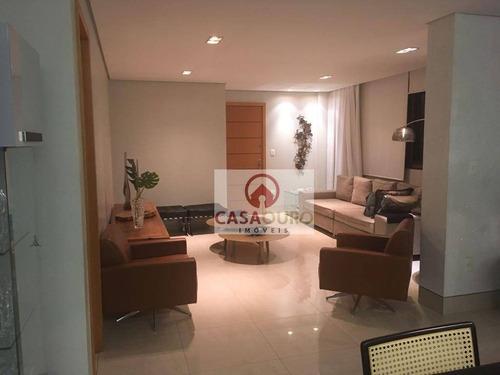 apartamento residencial à venda, sion, belo horizonte. - ap0561