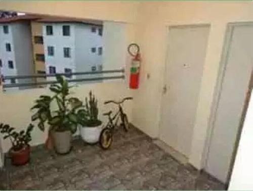 apartamento residencial à venda, sítio dos vianas, santo andré. - ap1266
