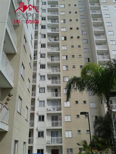 apartamento residencial à venda, são bernardo, campinas. - ap0108