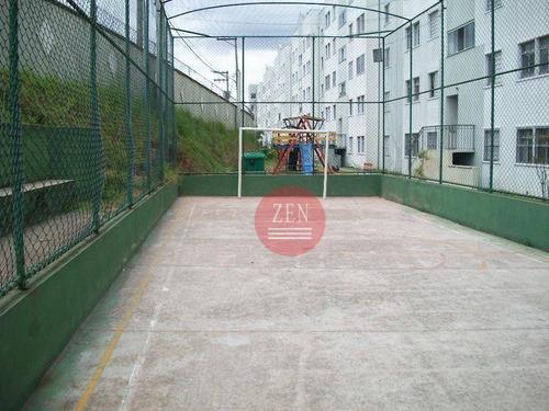 apartamento residencial à venda, são miguel paulista, são paulo. - ap8735