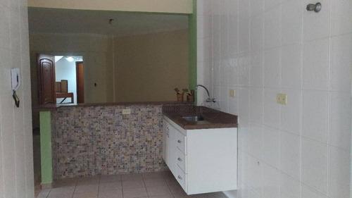 apartamento residencial à venda, solemar, praia grande. - ap2217