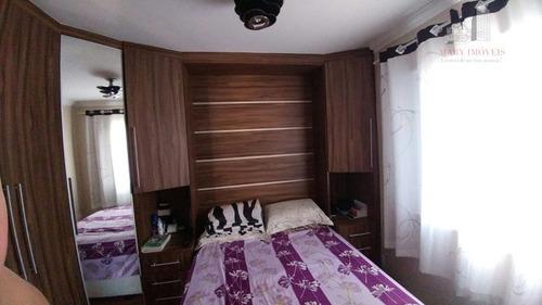 apartamento residencial à venda, suru, santana de parnaíba. - ap0151