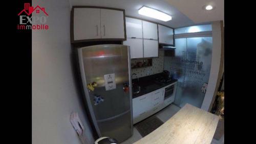 apartamento residencial à venda, swift, campinas. - ap0124