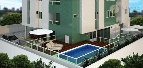 apartamento residencial à venda, tambauzinho, joão pessoa. - ap4148