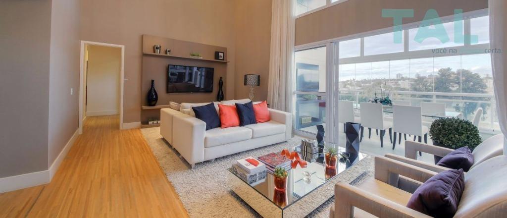 apartamento residencial à venda, taquaral, 4 suítes, 3 vagas, campinas. - ap0041