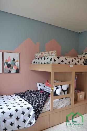 apartamento residencial à venda, taquaral, campinas. - ap0432