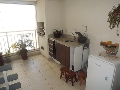 apartamento residencial à venda, tatuapé, são paulo. - ap7861
