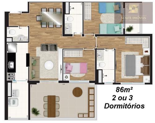 apartamento residencial à venda, tatuapé, são paulo. - codigo: ap2557 - ap2557