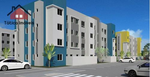 apartamento residencial à venda, tindiquera, araucária. - ap0137