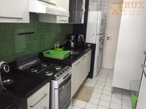 apartamento residencial à venda, torre, recife. - ap1598