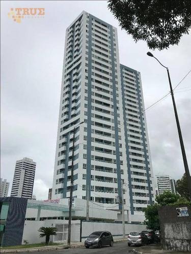 apartamento residencial à venda, torre, recife. - ap2341