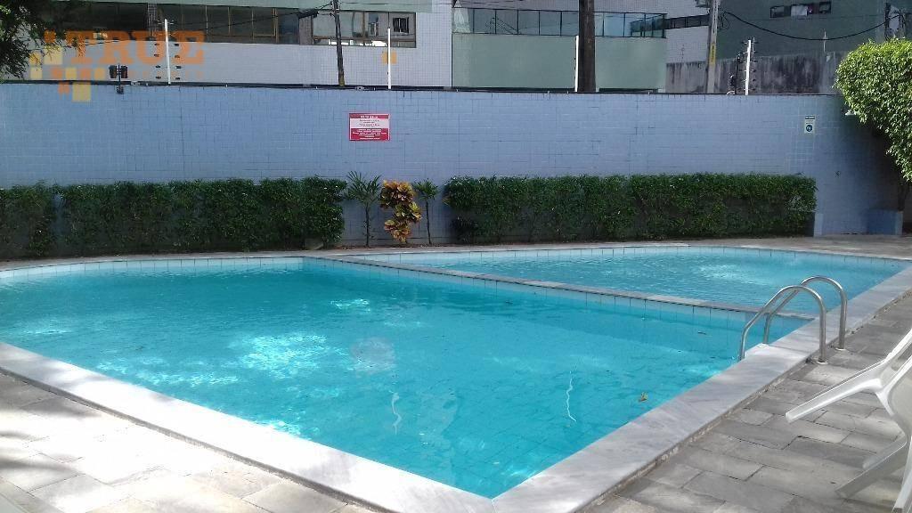 apartamento residencial à venda, torre, recife. - ap2365