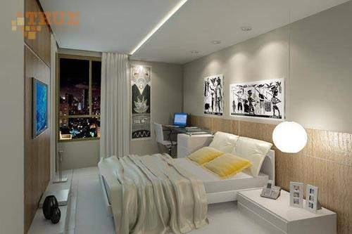 apartamento residencial à venda, torre, recife. - ap2384