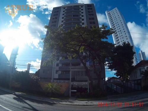 apartamento residencial à venda, torre, recife. - ap2497