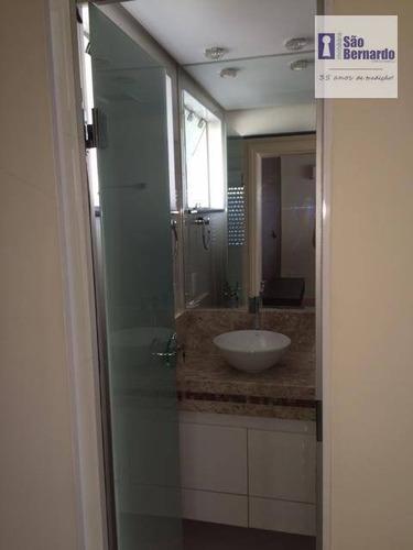 apartamento  residencial à venda, totalmente planejado, chácara machadinho i, americana. - ap0360