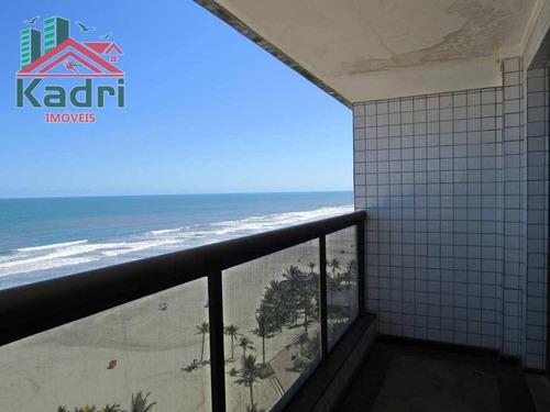 apartamento residencial à venda, tupi, praia grande. - ap0039