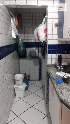 apartamento residencial à venda, umuarama, osasco. - ap1536