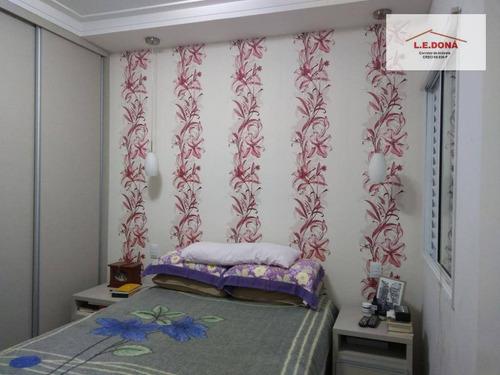 apartamento residencial à venda, umuarama, osasco. - ap1898