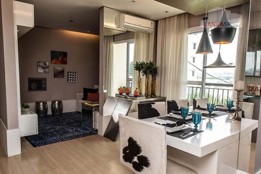 apartamento residencial à venda, utinga, santo andré. - ap1173