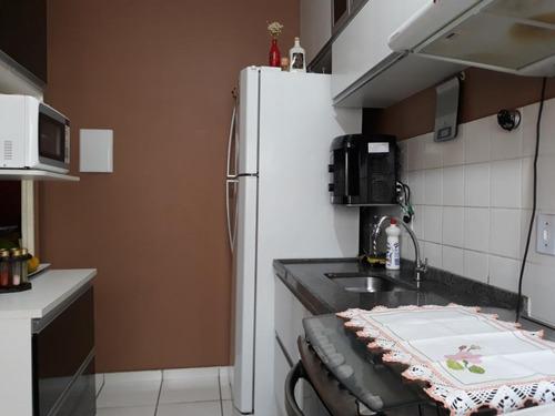apartamento residencial à venda, vale do sol, piracicaba. - ap0457