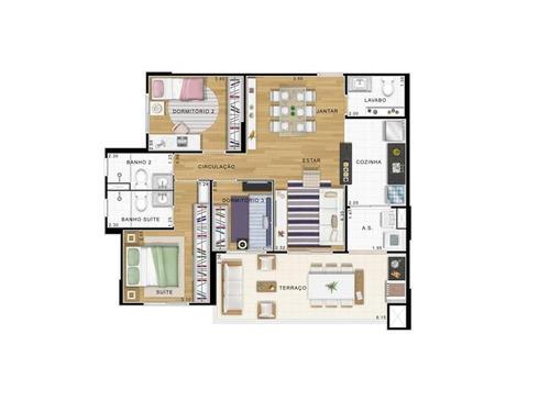 apartamento residencial à venda, várzea da barra funda, são paulo. - ap0146