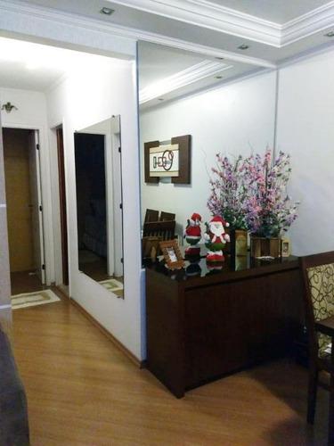 apartamento residencial à venda, vila alpina, são paulo. - ap1589