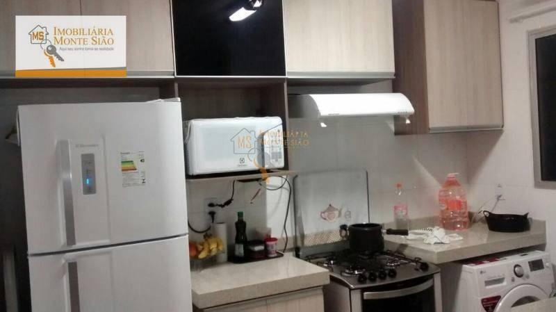 apartamento residencial à venda, vila alzira, guarulhos - . - ap0194