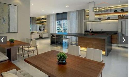 apartamento residencial à venda, vila anastácio, são paulo. - ap4819