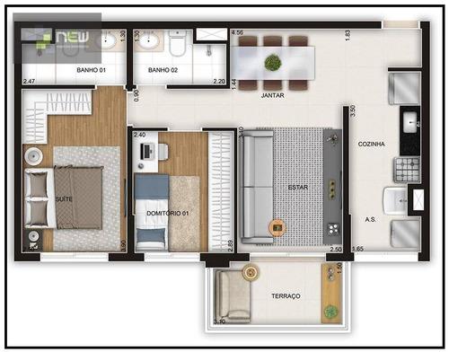apartamento residencial à venda, vila aricanduva, são paulo. - ap0766