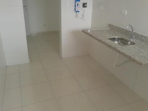 apartamento residencial à venda, vila assunção, praia grande. - ap0072