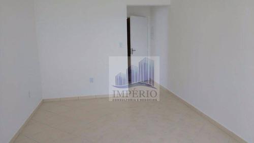 apartamento residencial à venda, vila assunção, praia grande. - ap0100