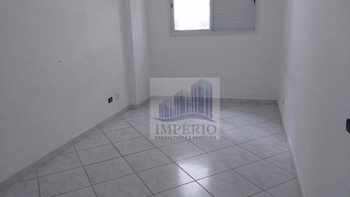 apartamento residencial à venda, vila assunção, praia grande. - ap0126