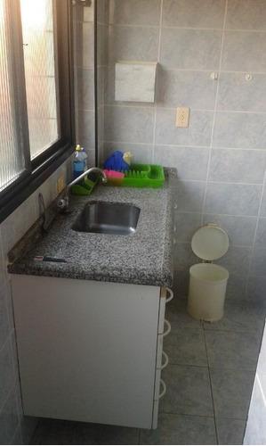 apartamento residencial à venda, vila assunção, praia grande. - ap0154