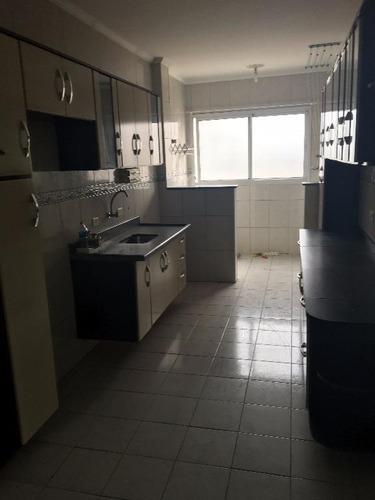 apartamento  residencial à venda, vila assunção, praia grande. - ap0754