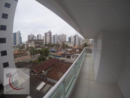 apartamento residencial à venda, vila assunção, praia grande. - ap1913