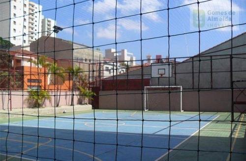 apartamento residencial à venda, vila assunção, santo andré - ap1092. - ap1092