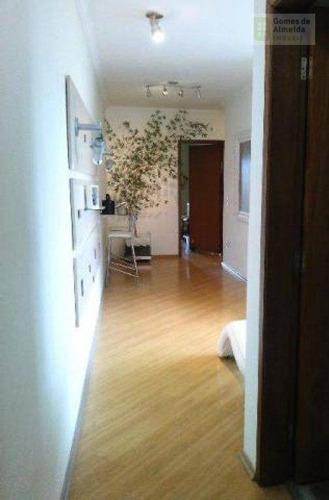 apartamento residencial à venda, vila assunção, santo andré - ap2070. - ap2070