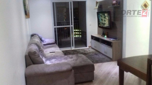 apartamento  residencial à venda, vila augusta, guarulhos. -