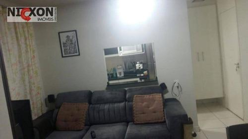 apartamento residencial à venda, vila augusta, guarulhos. - ap1061
