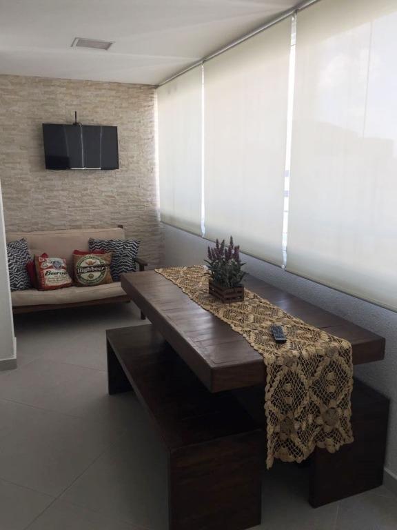 apartamento residencial à venda, vila augusta, guarulhos. - ap1123