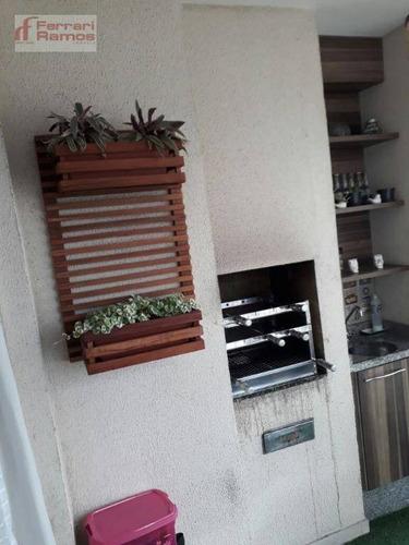 apartamento residencial à venda, vila augusta, guarulhos. - ap2767