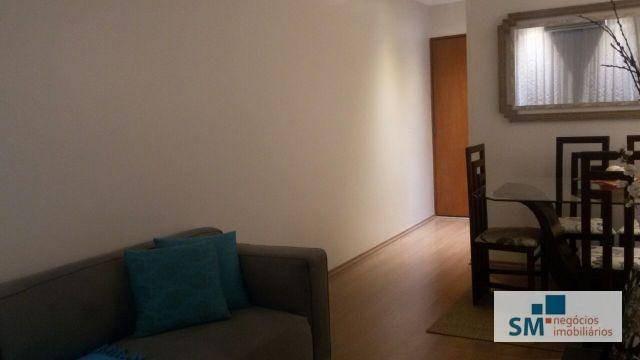 apartamento residencial à venda, vila baeta neves, são bernardo do campo. - ap1479