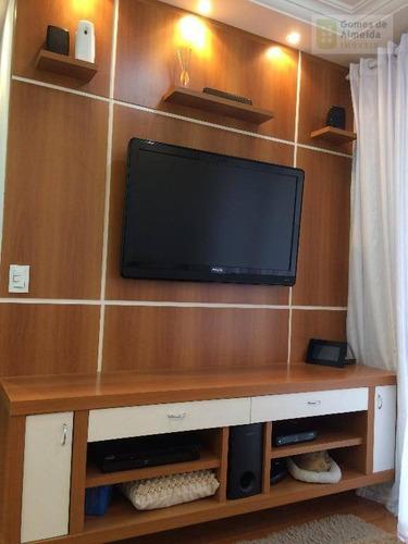 apartamento residencial à venda, vila baeta neves, são bernardo do campo. - codigo: ap2867 - ap2867