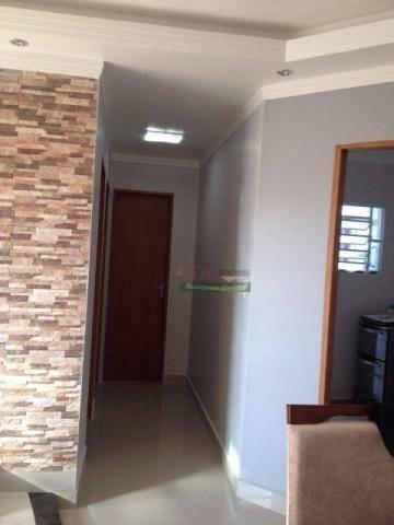 apartamento residencial à venda, vila bandeirantes, caçapava. - ap0922
