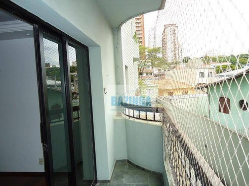 apartamento residencial à venda, vila bastos, santo andré. - ap0201