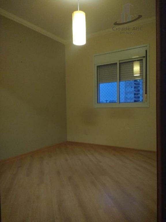 apartamento residencial à venda, vila bastos, santo andré. - ap1039