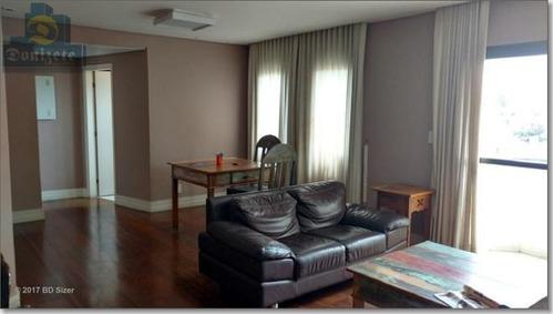 apartamento residencial à venda, vila bastos, santo andré. - ap3776