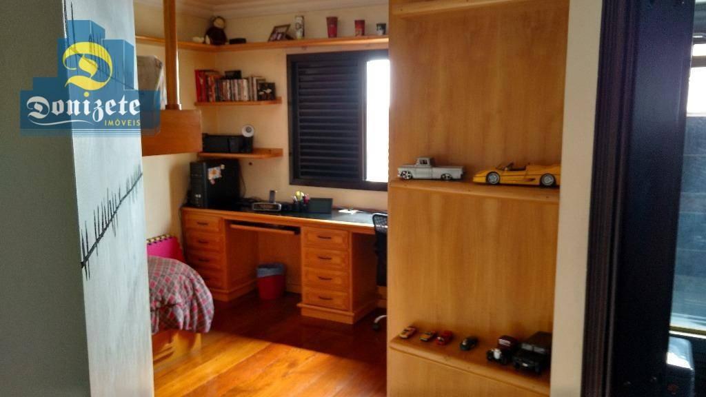 apartamento residencial à venda, vila bastos, santo andré. - ap7867